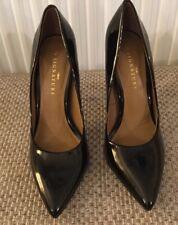 Next Signature Black Patent Court Shoes. Size 7. Worn Once