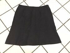 Bandolino Petite Gray Wool blend skirt Career above knee sz 16 P