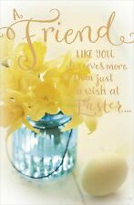 Friend More Than A Wish At Easter Greeting Card Happy Easter Greetings Cards