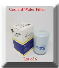 Lot of 6 x WF2074 coolant Spin-on Water Filter Fits:Cat 226-6567 Cummins 3315115