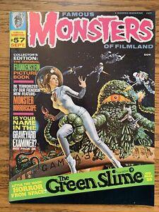 Famous Monsters of Filmland #57 FN/VF Green Slime 1969 Warren