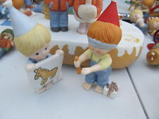 Enesco Country Cousins Katie & Scooter Pin the Tail on the Donkey