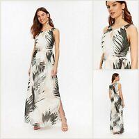 Wallis Maxi DressSize 16 | Ivory Palm Print | BNWT | £55 RRP | Brand New!