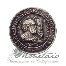 (Monetaio) Vaticano Pio IX Medaglia 18° cent. Martirio di Pietro e Paolo 1867