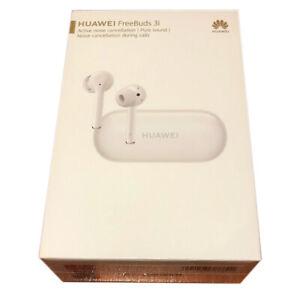 HUAWEI FreeBuds 3i (White) Wireless Bluetooth Noise-Cancelling Earphones