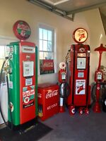 "GAS PUMP etc. RESTORATION SERVICE•CAN RESTORE ""YOUR"" Gas Pump/ Airmeter etc."