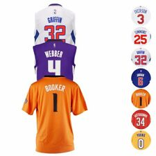 Camiseta de jugador de baloncesto de la NBA Oficial Réplica Colección Adidas Juventud Talla (S-XL)