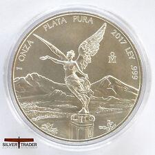 2017 1oz Mexican Silver Libertad 1 ounce Silver Bullion Coin unc:
