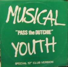 """Musical Youth Pass The Dutchie, Give Love A Chance  12"""""""