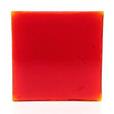 Mid-Century Modern Red Scandinavian Art Glass