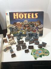 HOTELS Board Game Milton Bradley complete  Vintage MB Super Rare very