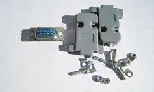 Female connector+shell DB9 connecteurs Conector hembra soldar+carcasa DB9 SUB-D