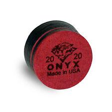 1 TIGER ONYX LTD Laminated Pool Billiard CUE TIP - 13 or 14 mm