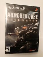 Armored Core: Last Raven (Sony PlayStation 2, PS2 2006) BLACK LABEL * NEW SEALED