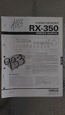 Yamaha rx-v1050 service manual original repair book stereo tuner receiver radio