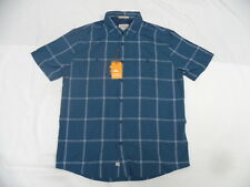 Quiksilver Waterman Indian Summer Major Blue Shirts Sz Medium SEQMWT03010