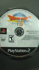 Dragon Quest VIII (Sony PlayStation 2, 2006) Ps2