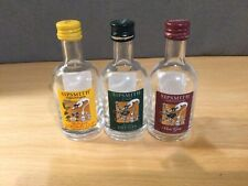 Empty Mini Sipsmith Gin Bottles Collectables