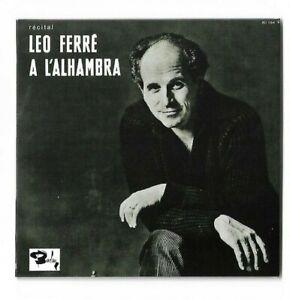 LEO FERRE : A L'ALHAMBRA 1961 (le LP original & le 25 cm en un seul CD)