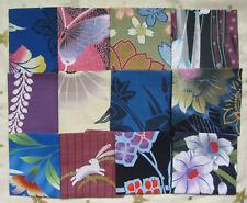 Vintage Japanese Kimono Wedding Kimono Yukata Cotton Patchwork Mixed Pack YC