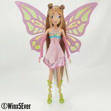 Jakks Pacific Winx Club Glam Enchantix Flora Custom OOAK Reroot Fairy Doll!