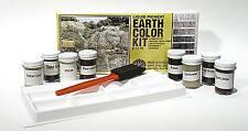 WOODLAND SCENICS wc1215 Earth colour KIT PAVIMENTO Assortimento Colori