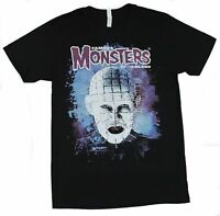 Famous Monsters of Filmland Mens T-Shirt - Pinhead Painted Image