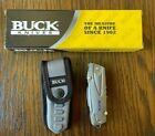 Buck Knives 732BLS X-Tract Fin Multi Tool Knife Pliers Screwdriver Scissors