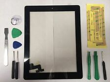 Front Panel Touch Screen Glass Digitizer Home Button Assembly for iPad 2 Black