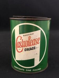 WAKEFIELD CASTROLEASE GREASE TIN CAN 1LB ONE POUND