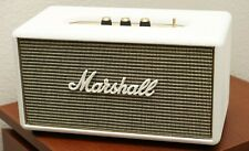 Marshall Stanmore Wireless Bluetooth Speaker WHITE custom painted