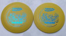 Innova Dx-Line Firebird [2-Pack] 169.7 & 170.4 Grams Yellow W/Blue Hotstamps