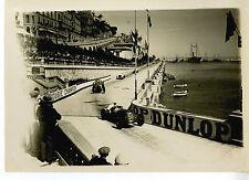 PHOTO ORIGINAL VINTAGE G.P. AUTOMOBILES DE MONACO 1931 MASERATI 26M N°50 DREYFUS