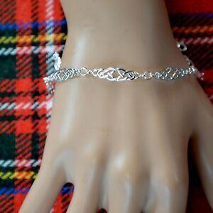 new sterling silver Celtic bracelet