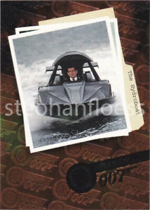 1999 Inkworks James Bond The World Is Not Enough Q Branch Q1 The Hydroboat