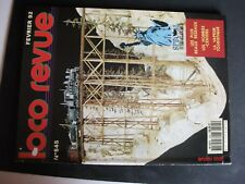 **j Loco Revue n°545 CC 21002 Jouef H0 / Une grue ferroviaire en G