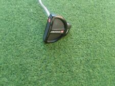 """SWEET  MINT RIGHT HANDED  ODYSSEY O-WORKS  2-BALL BLACK  PUTTER 35"""" GOLF CLUB"""