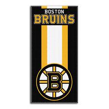 NHL Boston Bruins großes Badetuch Handtuch Zone-Read-Beach Towel 150x75cm