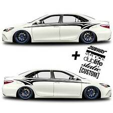 vinyl body GRAPHICS stripes car truck sticker decal 333 + 5 Decals Racing JDM
