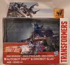 2013 Transformers Dino Sparkers Autobot Drift & Dinobot Slug by Hasbro