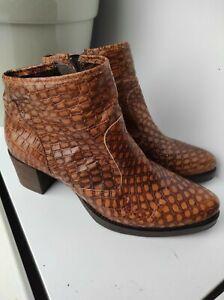 boots woman leather like snake cowboy EUR 42 / UK 8 / USA 9.5 Marc