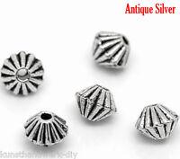 KUS 200 Antiksilber Spacer Perlen Zwischenteil 4x4mm