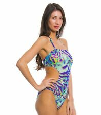 Kiniki Coral Tan Through Cut Out Swimsuit