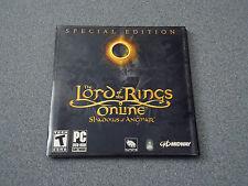 Lord of the Rings Soundtrack CD & DVD Bonus  LOTRO  PC    NEW