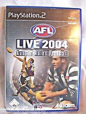 AFL Live 2004 Aussie Rules Football- Playstation 2 - Geschenke Spiele Kind