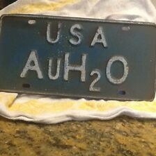 very scarce auto plate 1964 Barry Goldwater only 1500 made