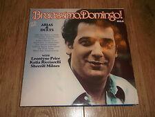 """PLACIDO DOMINGO """" BRAVISSIMO DOMINGO """" ARIAS AND DUETS 2 X VINYL LP EX/EX 1982"""