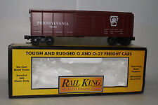 MTH RAIL KING O SCALE #30-7418 PENNSYLVANIA ROUNDED ROOF BOX CAR