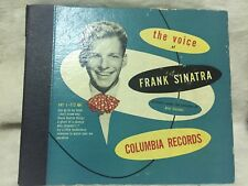 THE VOICE OF FRANK SINATRA~C112/1946~4X LP~1st PRESSING Missing One.