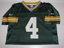 Green Bay Packers Brett Favre #4 Football Jersey sz L, 14-16, Youth's